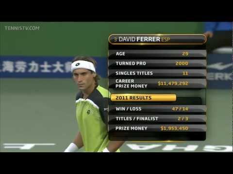 Milos Raonic vs. David Ferrer - Shanghai 2011