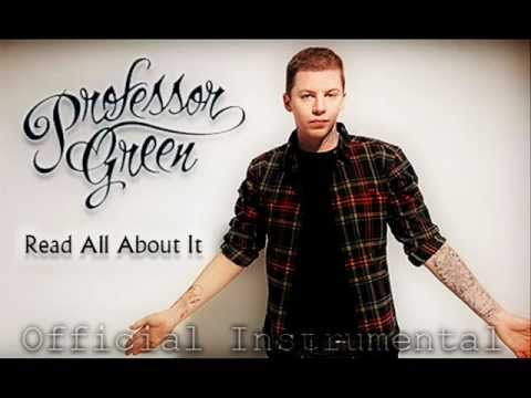 Professor Green - Read All About It (Official Instrumental)