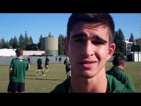Chris Bettencourt on playing soccer with cousin Adam