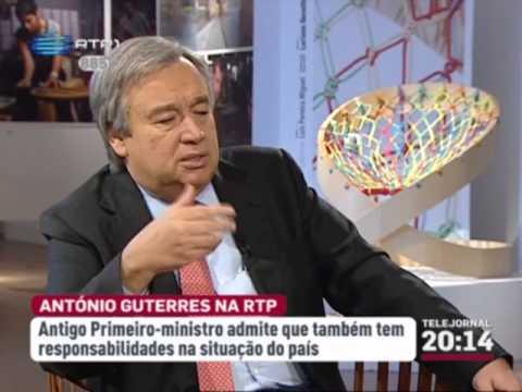 Guterres - Responsabilidade e Submarinos