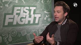 Charlie Day Raps His Favorite Ice Cube Song - Fist Fight Interviews