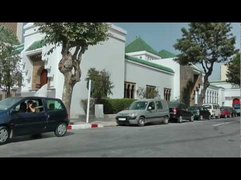 Morocco, Tangier Downtown 1080 50p Full HD
