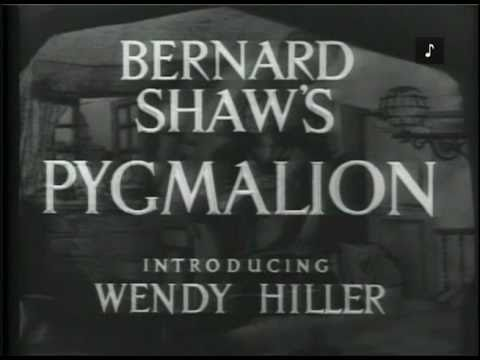PYGMALION (1938) - Full Movie - Captioned