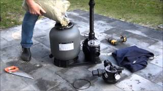Instructie video zandfilter