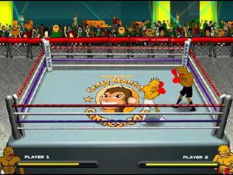 Hot Blood Boxing - krótki film gry