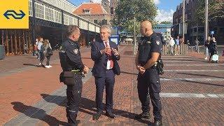 Op pad met Roger ... Vlog over NS Veiligheid & Service @Haarlem