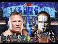 Sting vs Brock Lesnar-Wrestlemania 32 (No Holds Barred Match!)
