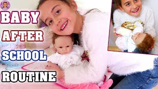 REBORN BABY After School Routine - Mileys Welt