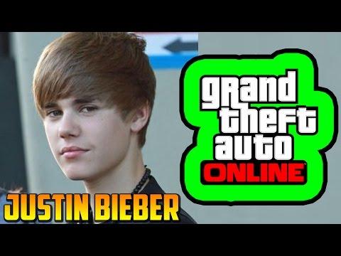 Justin Bieber en GTA 5 Online!!! - Misterios GTA V Online - Easter Egg GTA 5 Online