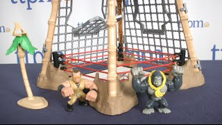 WWE Slam City Gorilla in the Cell Match from Mattel
