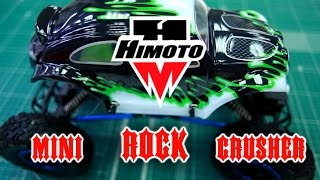 Р/У краулер Himoto mini Rock Crusher 4WD 2.4G 1/18 обзор