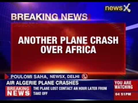 Another plane crash over Africa