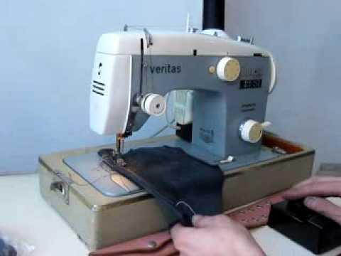 Швейная машина веритас инструкция швейной машинки