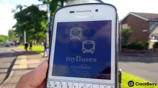 myBuses for BlackBerry 10