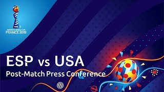 ESP v. USA - Post-Match Press Conference