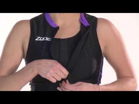 Zone3 Women's Aquaflo Top - 2015