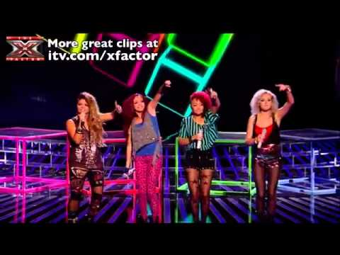 Little Mix - Tik Tok & Push It - The X Factor 2011 [Live Show 3]