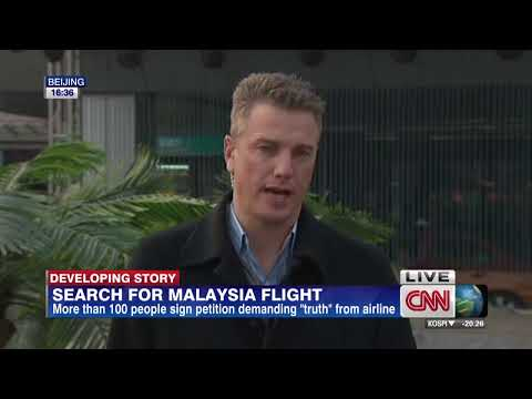 Families wait for word on missing flight
