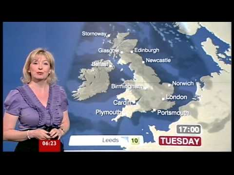 Breakfast 200410 Carol Kirkwood and her incredible breasts yt