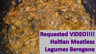 Haitian Meatless Legumes Beregene