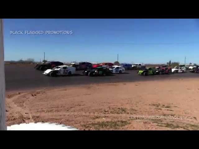 Central Arizona Speedway- Modified Main March 8th 2015