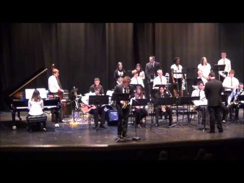 Jefferson High School (WV) Jazz Band Performs Georgia on My Mind (Mar 3 2012)