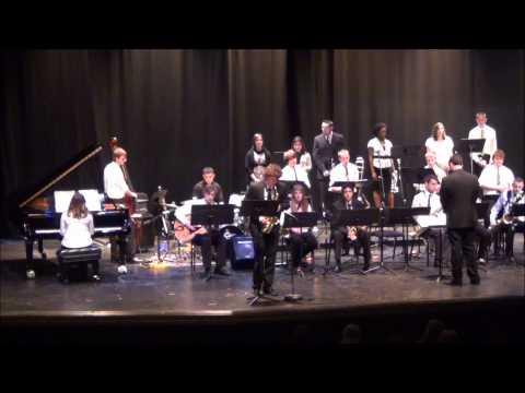 Jefferson High School (WV) Jazz Band Performs Georgia on My Mind (Mar 3 2012)
