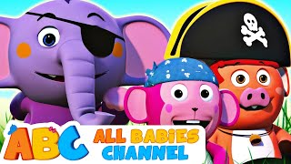 Playtime at the Playground | Playground Song +More Nursery Rhymes by All Babies Channel