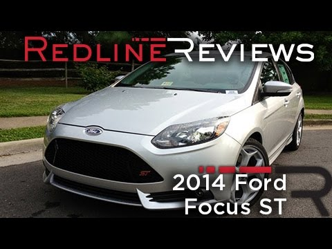 2014 Ford Focus ST Review. Walkaround. Exhaust. & Test Drive