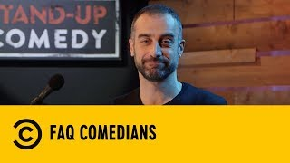 Faq Comedians: Bidella, Sesso Coniugale, Ex, Piercing  - Stand Up Comedy