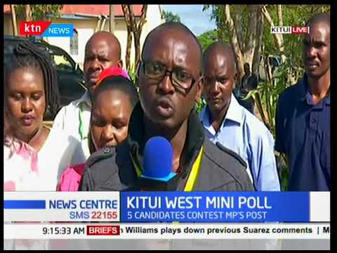 Francis Nyenze's Widow Edith Nyenze Gives IEBC A Thumbs Up On The Kitui West By-election