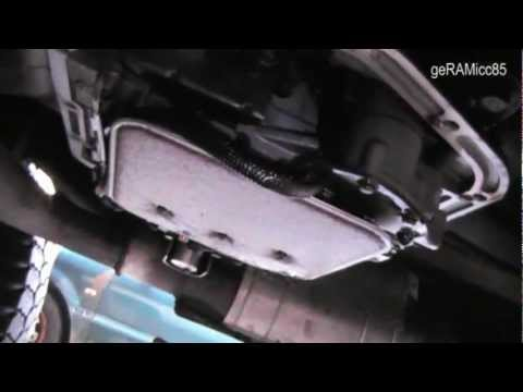 TRANSMISSION FLUID CHANGE & BAND ADJUSTMENT DODGE RAM 1500 ATF+3 AUTOMATIC OIL FILTER 46RE 96 how to