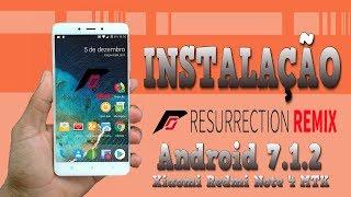 Instalação [Unofficial] Resurrection Remix - Xiaomi Redmi Note 4 MTK