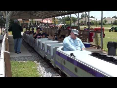 Southeastern Railway Museum Park train ride