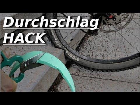BIKE HACK | Durchschlagschutz selbst gemacht | Tutorial | German