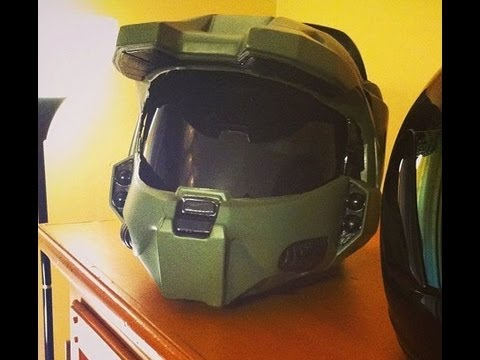 How to Tutorial: Halo Master Chief Motorcycle Helmet