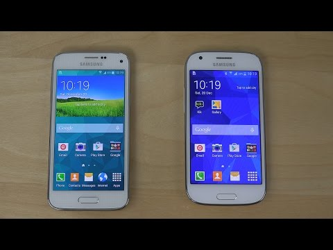 Samsung Galaxy S5 Mini vs. Samsung Galaxy Ace 4 - Review (4K)