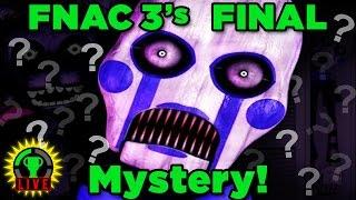 Solving FNAC 3