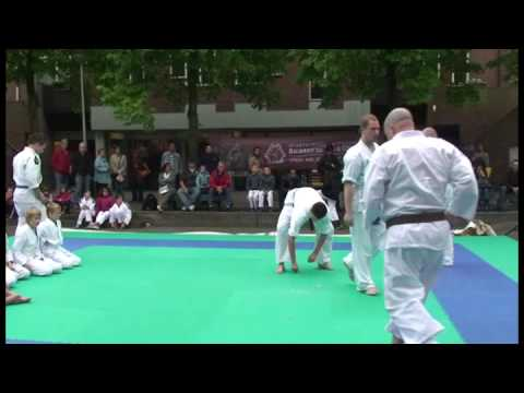 Muramachi Kyokushin - Breaking test demonstration - Hanshi Tom Eikmans 8th dan Image 1