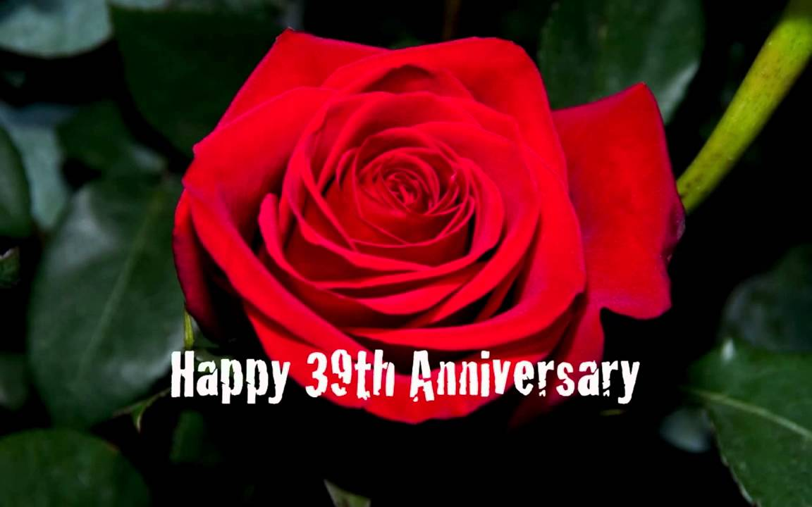 39th Wedding Anniversary - YouTube