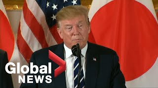 Trump urges business leaders to invest in U.S. during Japan trip
