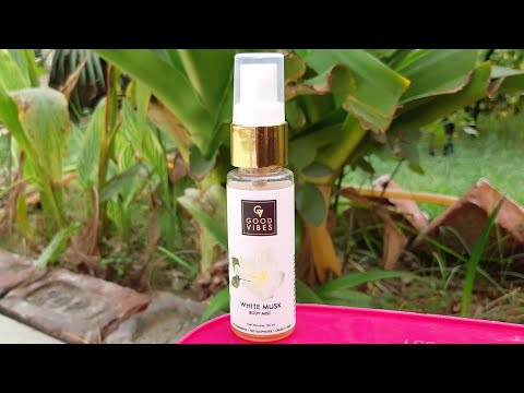 Good vibes white musk body mist review | super affordable body mist for winters |