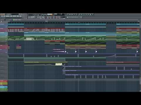 Crax - Getting There (FL Studio Dark Glitch Ambient)