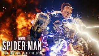Spider Man PS4 SILVER LINING Final Boss Fight & Ending - Hammerhead Boss Fight