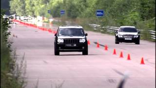 Moscow Unlim 500: Jeep SRT-8 vs MB CLK63 AMG Black Series