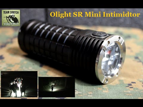 Olight SR Mini Intimidator 2800 Lumen LED Flashlight Review