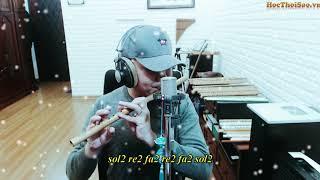 Lạnh Lẽo 涼涼 - OST Tam Sinh Tam Thế Thập Lý Đào Hoa | Sáo Trúc Hoàng Anh Dizi Việt | Master of Flute