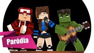 Baixar Minecraft: PARÓDIA - TREM BALA (ANA VILELA) - CONTINUA SEU JOGO 🎵 (Música Minecraft)