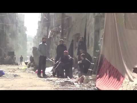 Homs , Syria- Evacuation of Civilians