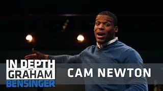 Cam Newton simulates playing, imitates Peyton Manning